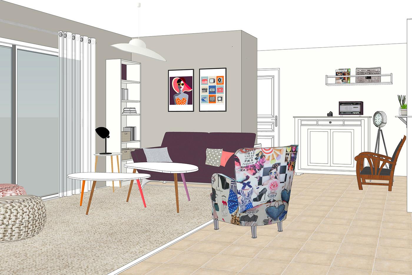 Decoratrice Interieur La Rochelle pointes de couleurs - korin décoratrice graphiste niort